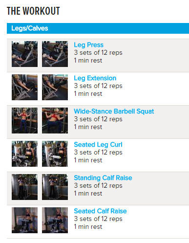 phase 1 day 3 - Jamie Eason's LiveFit Trainer – Phase 1 Day 3